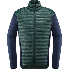 Haglöfs Mimic Hybrid Jacket Herre mineral/tarn blue